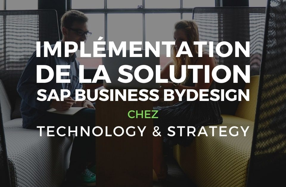 Solution Business ByDesign ERP solution de gestion d'entreprise