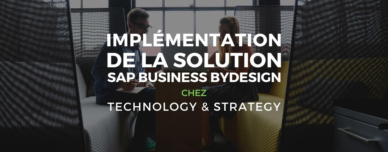 Solution Business ByDesign ERP solution de gestion d'entreprise