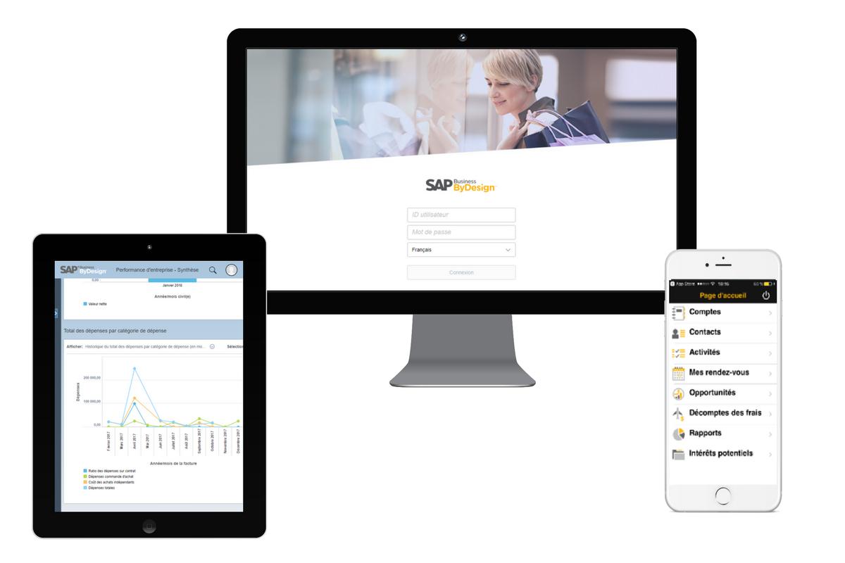 Faciliter la gestion en entreprise grâce à l'ERP SAP Business ByDesign